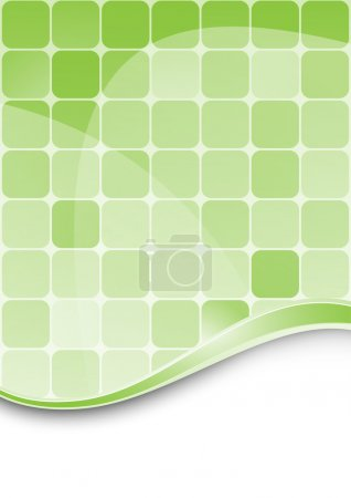 Green abstract background template