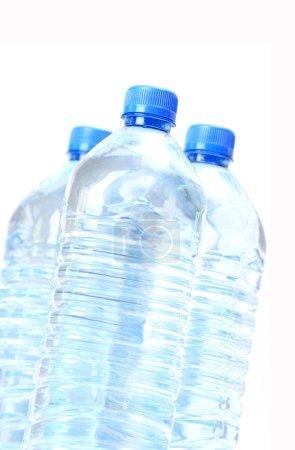 Potable water in plastic bottles