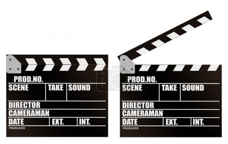 Photo for Illustration of filming cracker on a white background - Royalty Free Image