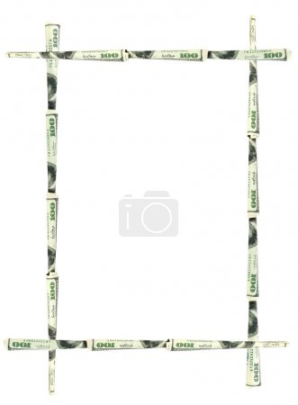 Abstract dollars frame