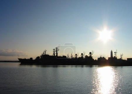 Navy base in Kronstadt