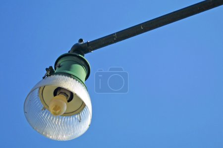 Lamp on the lamppost