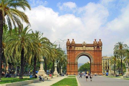 Arc de Triomphe in Barcelona