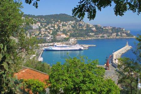 Panorama of Nice city, France
