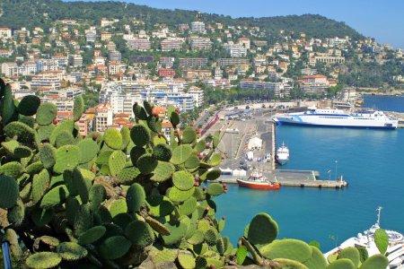 Panorama of Nice city