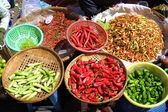 Different species of pepper