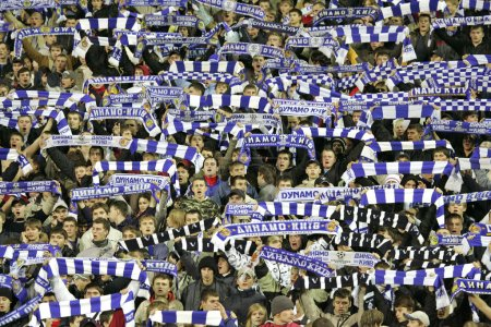 Soccer team supporters