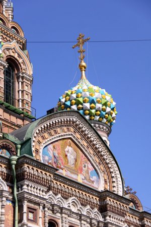 Church of the Savior on Blood - very famous land