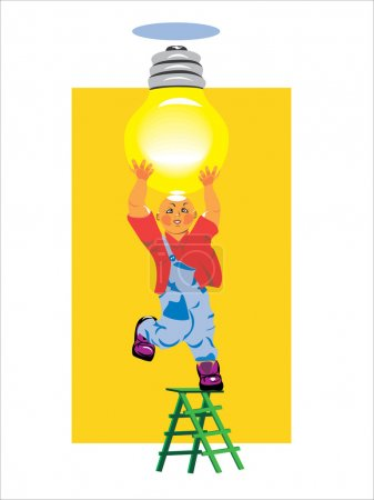 Electrical and included light bulb