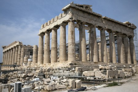 Photo for The Parthenon in Athens Greece - Royalty Free Image