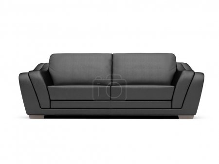 Photo for Isolated couch over white background - Royalty Free Image