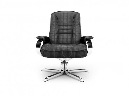 Leather armchair for chief and boss