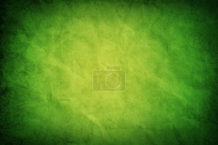 Green grungy paper texture
