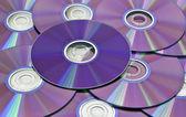 コンピューターの cd をクローズ アップ