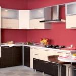 Modern kitchen furniture for home interior...