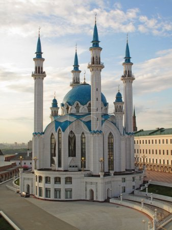 The Kul Sharif mosque, Kazan , Russia