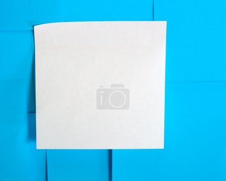 Photo for Many blank sticky papers - Royalty Free Image