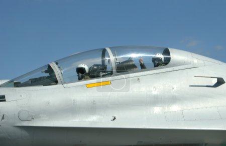 Photo pour Guerre-avion su 30 Russie - image libre de droit