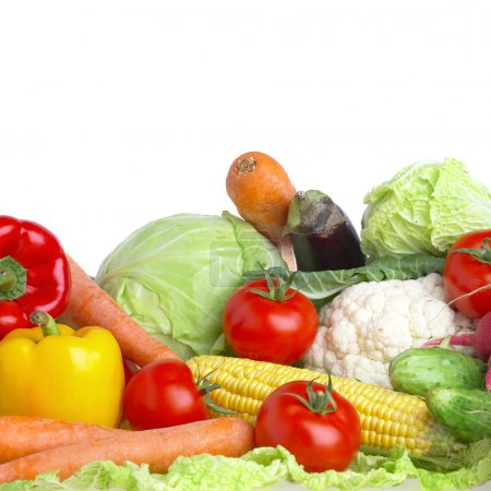 Photo for Photo of various vegetables. Healthy food - Royalty Free Image