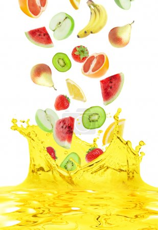 Photo for The fruit falls in own juice - Royalty Free Image
