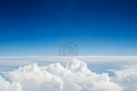 Photo for Sky and clouds background - Royalty Free Image