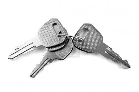 Photo for Keys isolated. Clipping path included - Royalty Free Image