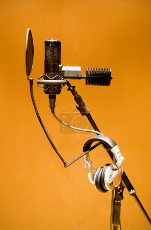 Photo for Microphone for studio recording - Royalty Free Image