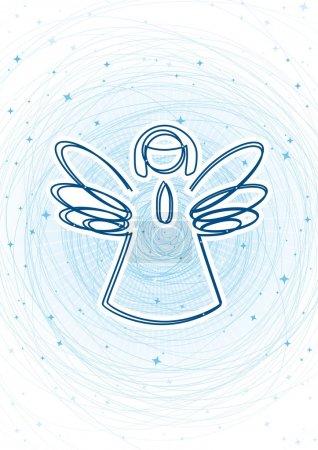 Illustration pour Anges - image libre de droit