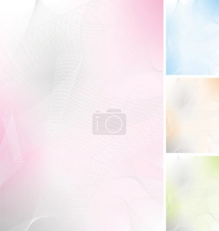 Illustration for Pastel backgrounds - Royalty Free Image