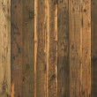 Close up of brown plank wooden surface...