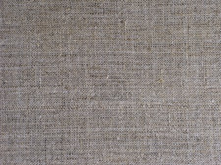 Flax fabric texture
