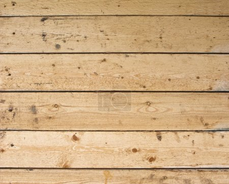 Close up of uncolored plank wall surface...