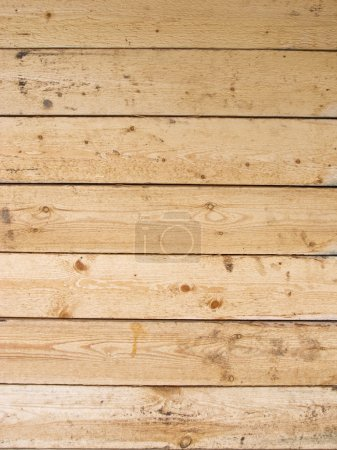 Close up of uncolored wooden plank wall...