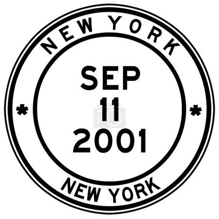 Nine eleven new york post stamp