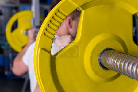 Photo for Training, closeup indoor shot with selective focus - Royalty Free Image