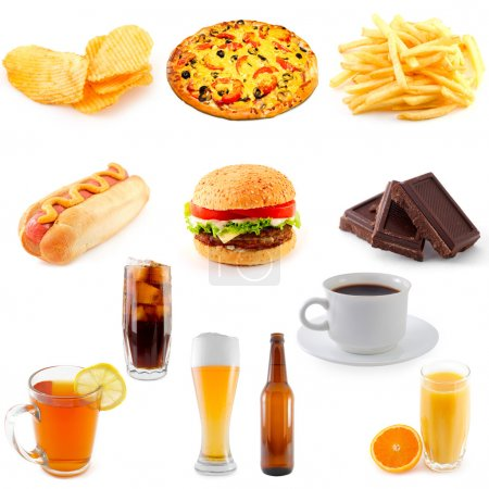 Photo for Set of fast food - Royalty Free Image