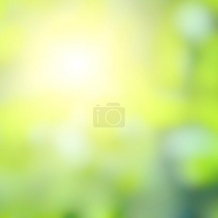Summer sun, abstract background