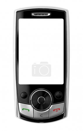 Mobile phone, clipping path