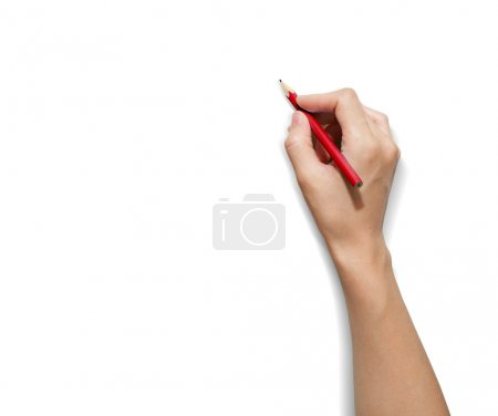 Photo for HAND Pencil - Royalty Free Image