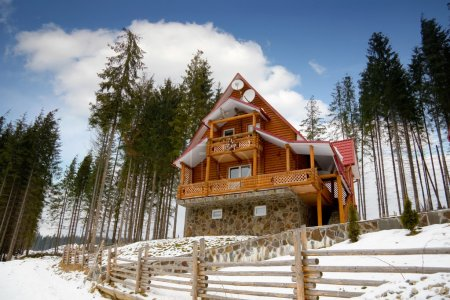 architecture Wooden house