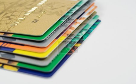 Heap of credit card
