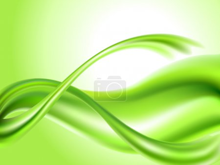 Illustration for Abstract green background - Royalty Free Image