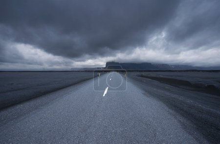 Road in iceland