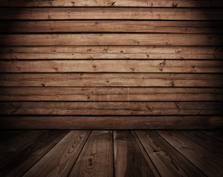 Photo for Old wooden interior - Royalty Free Image
