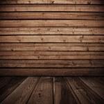 Old wooden interior...