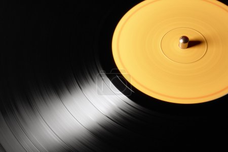 Photo pour Ancien disque vinyle - image libre de droit