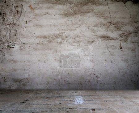 Photo pour Grunge intérieur gris - image libre de droit