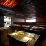 Interior of japanese restaurant.