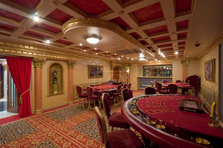 Rich casino interior