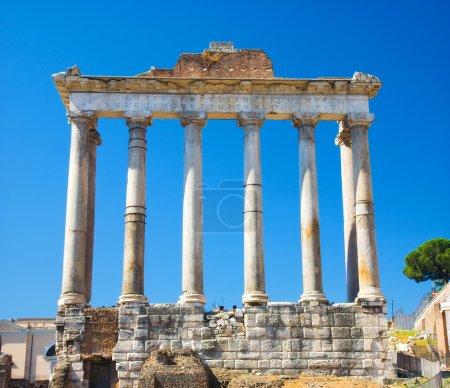 Columns on Rome Forum